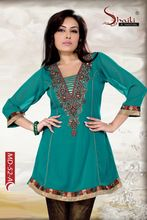 Designer Hand Work Party Wear Kurti