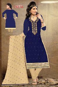 Embroidered And Hand Work Georgette Salwar Kameez
