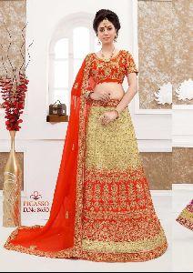 Silk Designer Embroidered Lehenga Choli