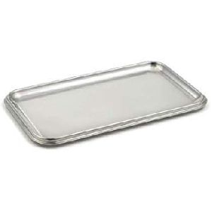 Decorative Stainless Steel Serving Tray