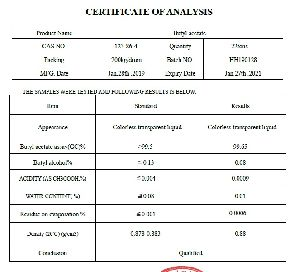 Butyl Acetate - 99% Purity