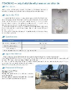Polydimethyl Dislkelen Ammonium Chloride Pdadmac