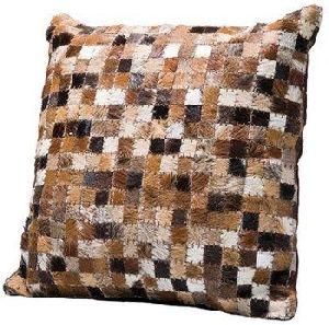 Customised Leather Cushion