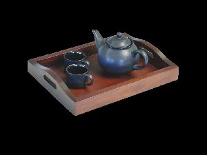 Spa Room Tray With Kettle And Cups