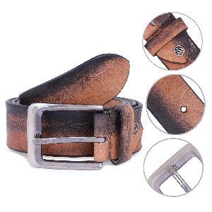 Genuine Leather Handmade Tan Belt