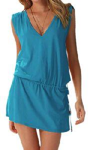 Beach Dress Cover Up Sarong In Organic And Non-organic Fabrics