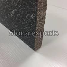 Glossy Black Galaxy Granite Slab