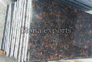 Polished Tan Brown Granite Slab
