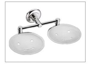 Smile Double Soap Dish