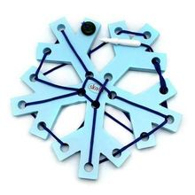Snowflake Kids Educational Wooden Toys