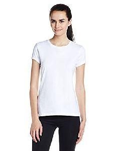 Ladies Cotton Round Neck T- Shirt