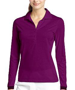 Ladies Full Sleeves Polo T-shirt