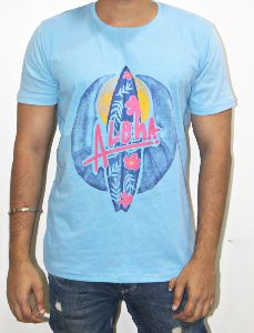 Mens Casual Round Neck T- Shirt