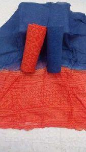 Chiffon Cotton Dress Material