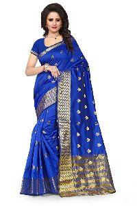 Heavy Silk Cotton Sarees