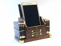 wooden coaster cum mobile