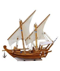 Wooden Handicraft Boat
