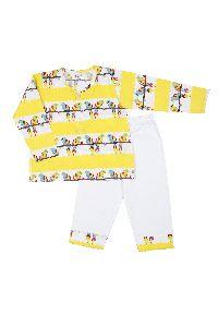 100 % Cotton Kids Night Wear - Kurta Pajama