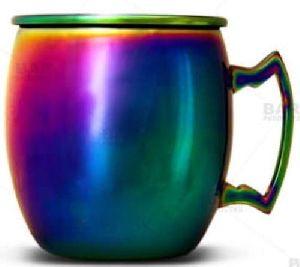 Colorful Copper Mug