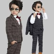 Kids Three Piece Suit