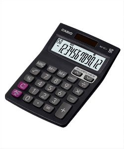 Casio Mj-12sa Desktop Calculator -black