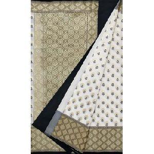 Zari Weaving Work And Alfi Patola Pattern