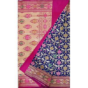 Zari Work Banarasi Katan Silk Saree