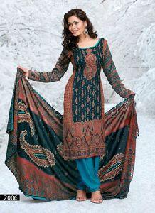 Designer Winter Suits Salwar Kameez
