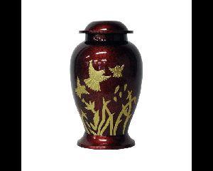 Flying Dove Brass Cremation Urn