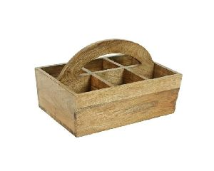 Wooden Cutlery Stand/caddy