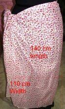 India Cotton Pareos Sarongs