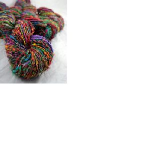Multicolored Sari Silk Yarn