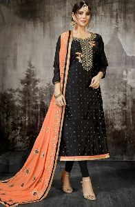 Designer Gota Patti And Embroidery Work Salwar Kameez