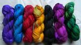 Recycled Sari Silk Ribbon Yarn