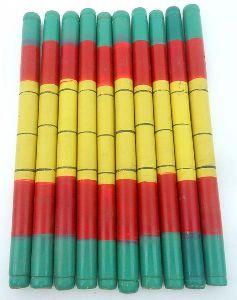 Wooden Navaratri Festival Garba Dance Wooden Dandiya Stick