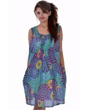 Women Cotton Halter Dress