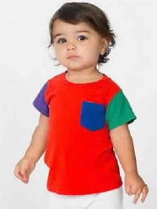 Infants Designer Round Neck T-shirts