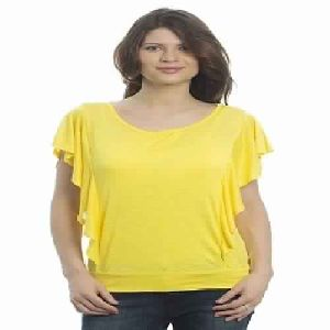 Womens Fashion Plain Round Neck T-shirts