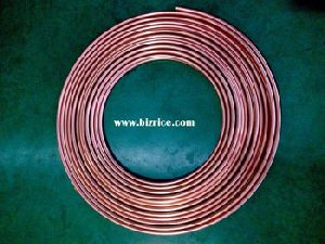 COPPER COILS PIPES