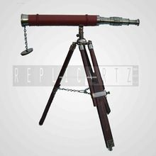 Leather Brass Telescope