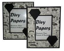 Handmade Paper Photo Frames Ethnic Printed Designer
