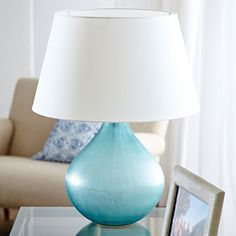 Crystal Glass Table Lamp