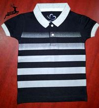 Cotton Polo T Shirt For Kids Short Sleeve Clothing
