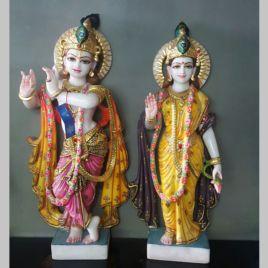 Lord Krishna Marble Statue