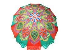 Decorative Indian Traditional Garden Umbrella