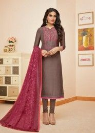 Upada Silk New Designer Churidar Suits