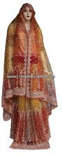 Red Gold Indian Wedding Dresses