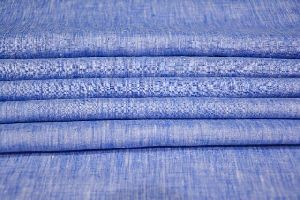 Brand NS Fabric 100% Pure Linen Lea-60*60 Unstiched Shirting Fabric