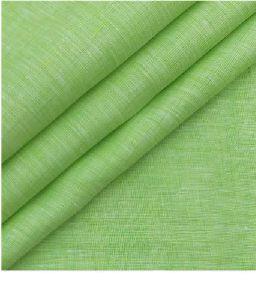 NS Fabric Green Linen Unstitched Shirt