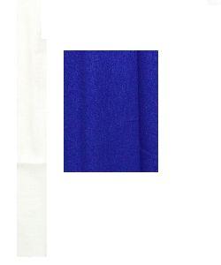 NS Fabric Royal Blue Linen Cotton Unstiched Shirt Fabric